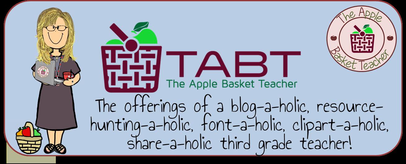 The apple basket teacher. January clipart header