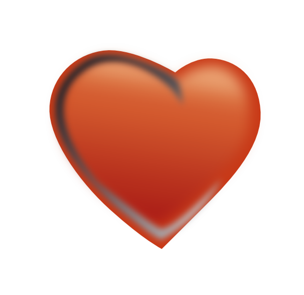 Red clip art at. February clipart cluster heart