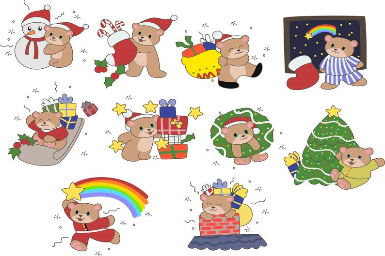 February clipart cute button. Christmas holiday clip art