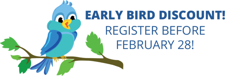 February clipart early.  annual conference bird