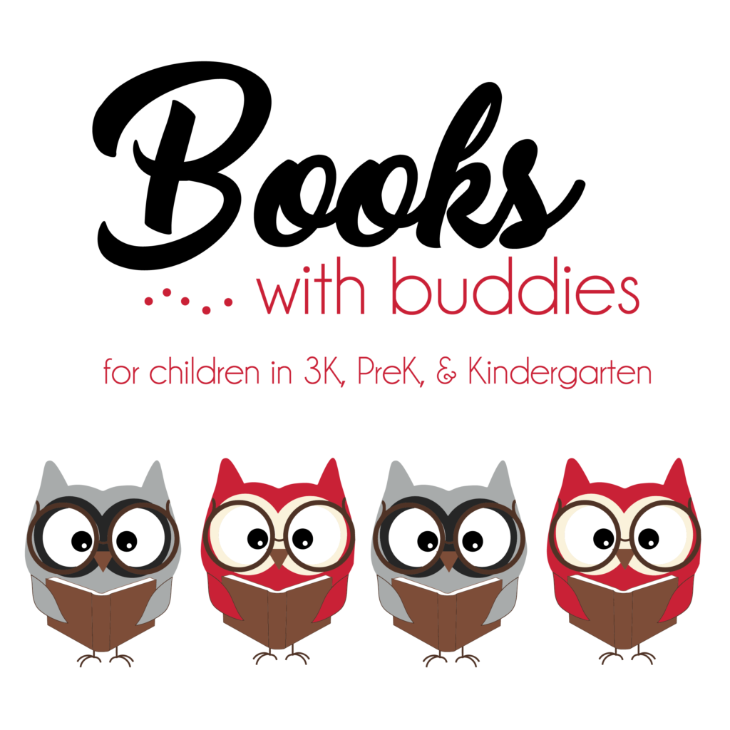 Books with buddies february. Toddler clipart buddy read