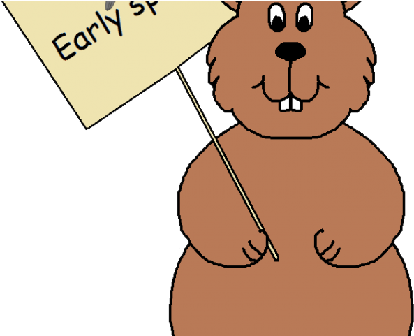 Ground hogs day . February clipart groundhog hole