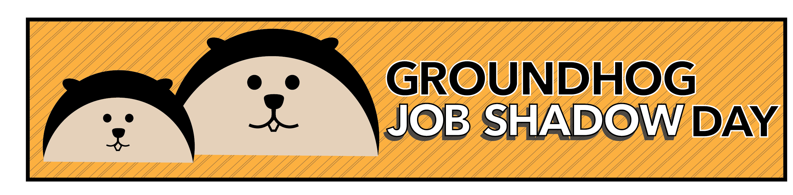 Groundhog clipart shadow. Job day career technical