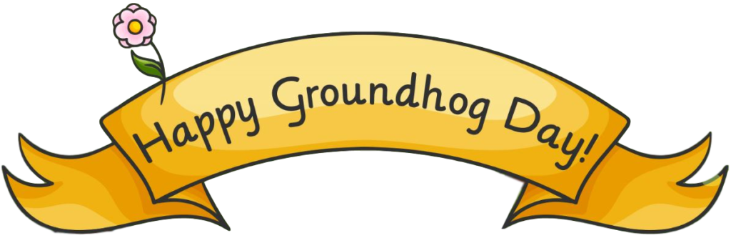 Victorian americans observed day. Groundhog clipart february newsletter