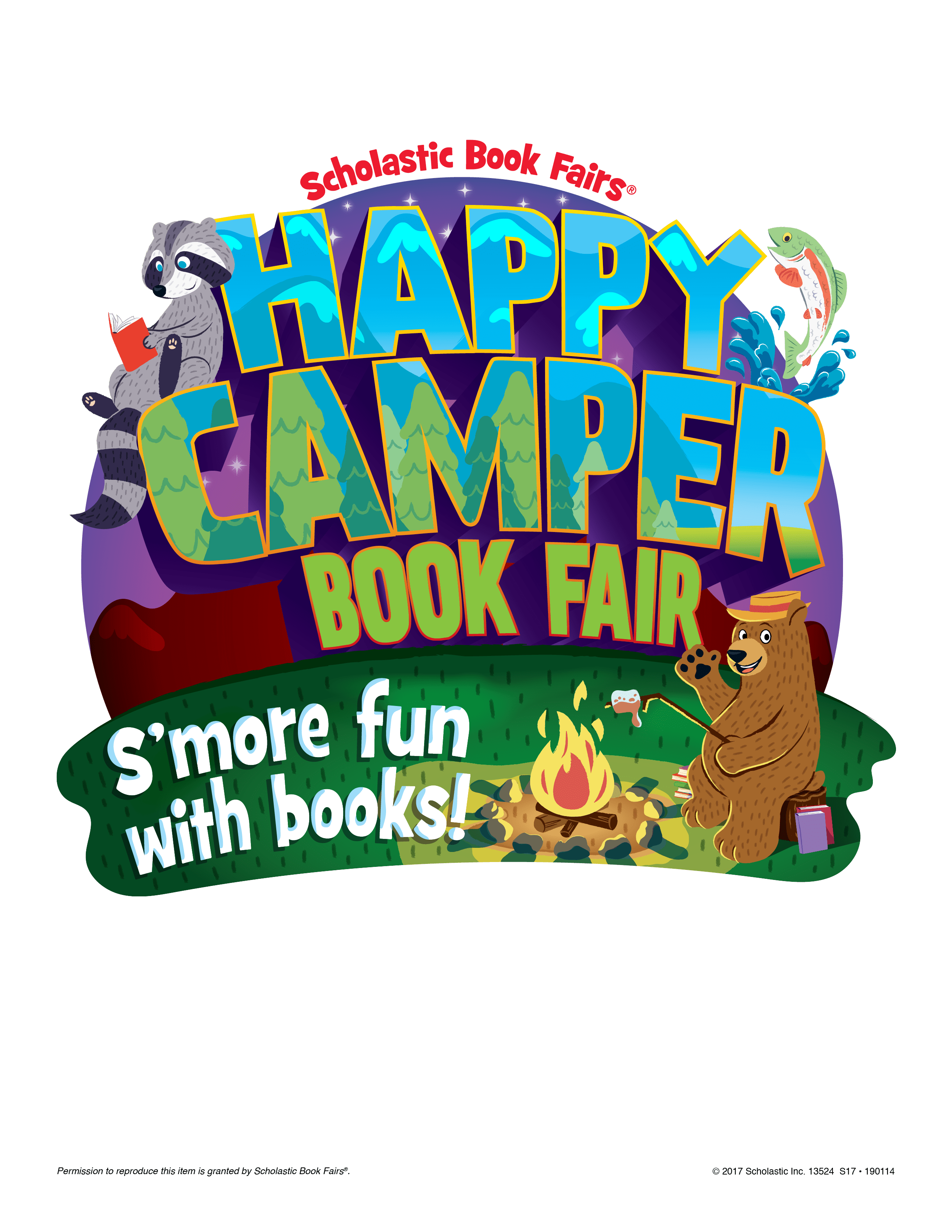 Book fair little people. February clipart happy new