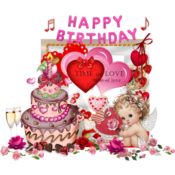 February clipart loved. Free birthday cliparts download