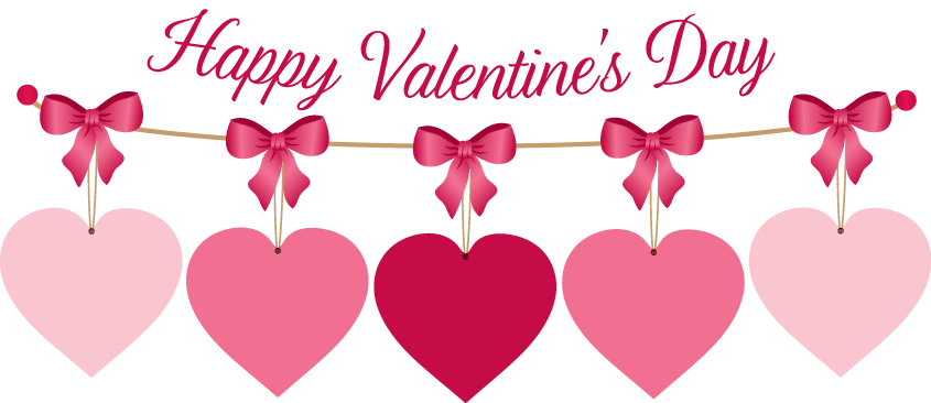 Happy valentines day full. February clipart loved