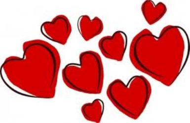 Free cliparts download clip. February clipart many heart
