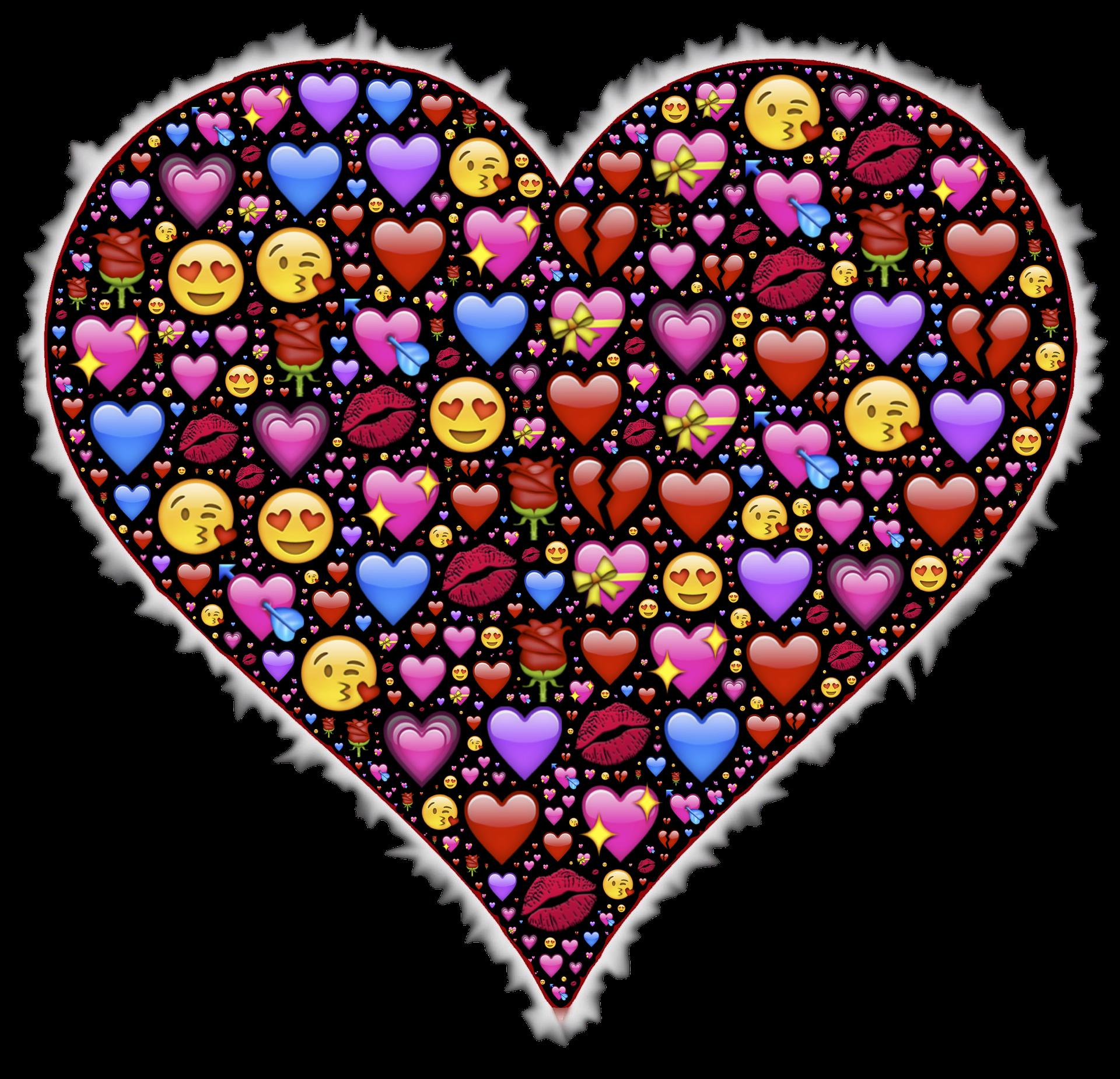February clipart many heart. I m just an