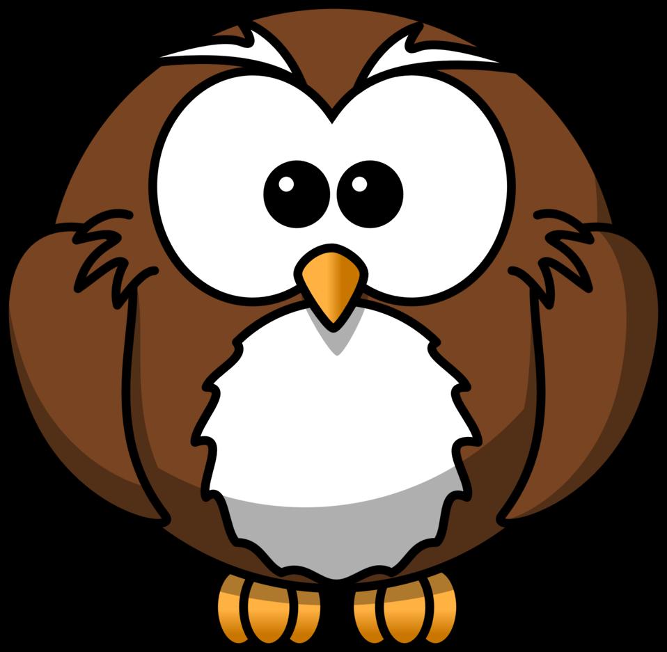 Public domain clip art. February clipart owl