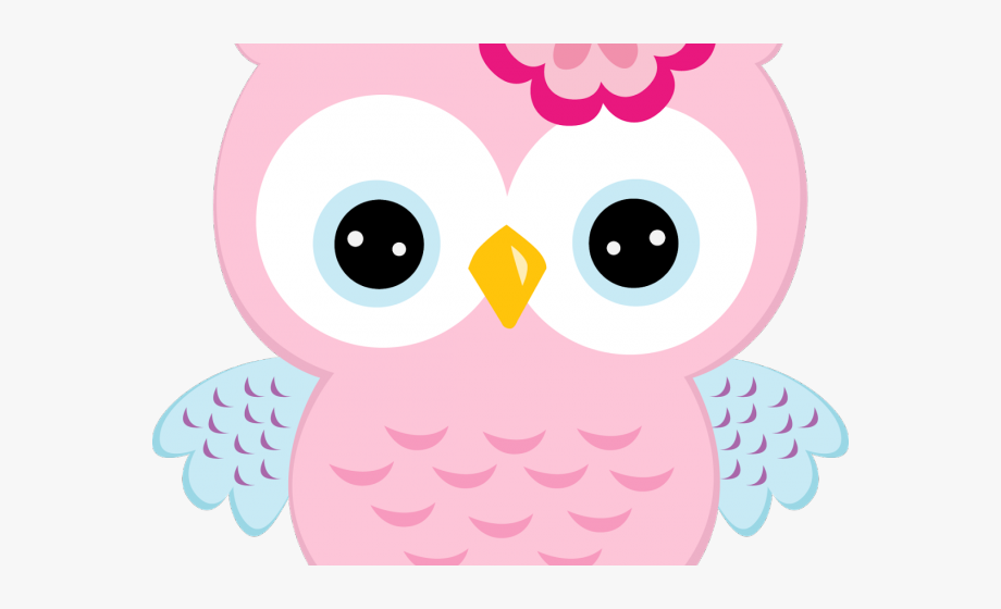 Shower baby owl clip. Owls clipart pink