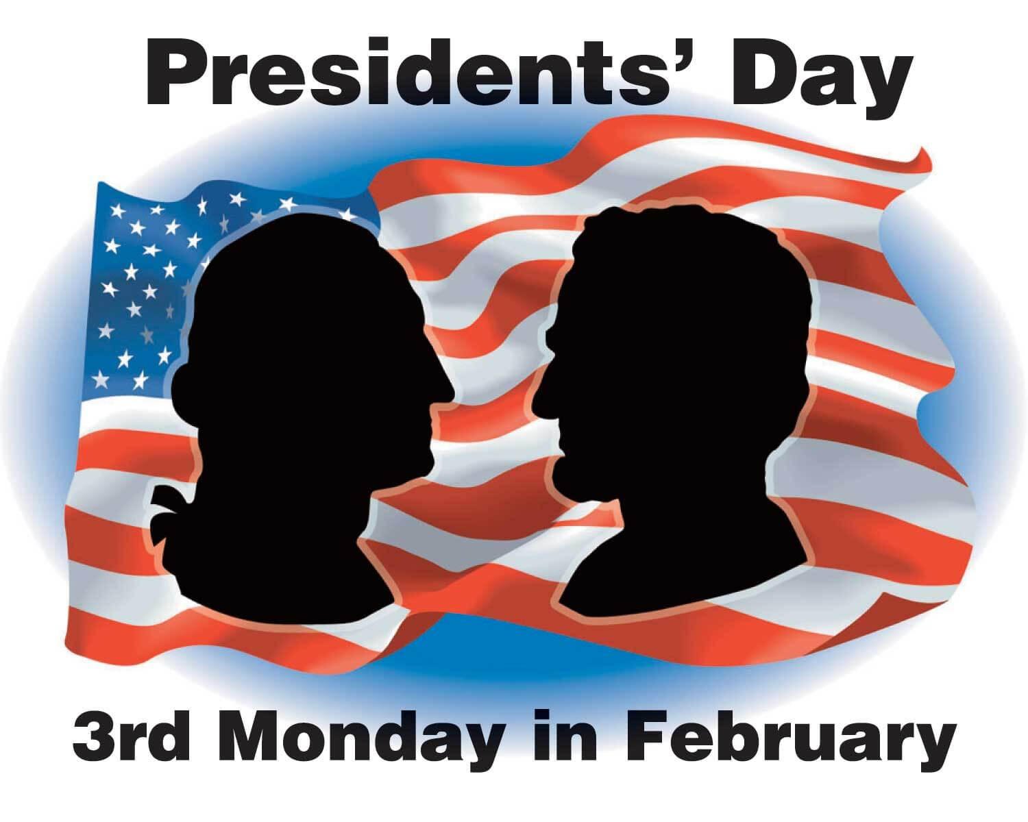 February clipart presidents day.  most beautiful greeting