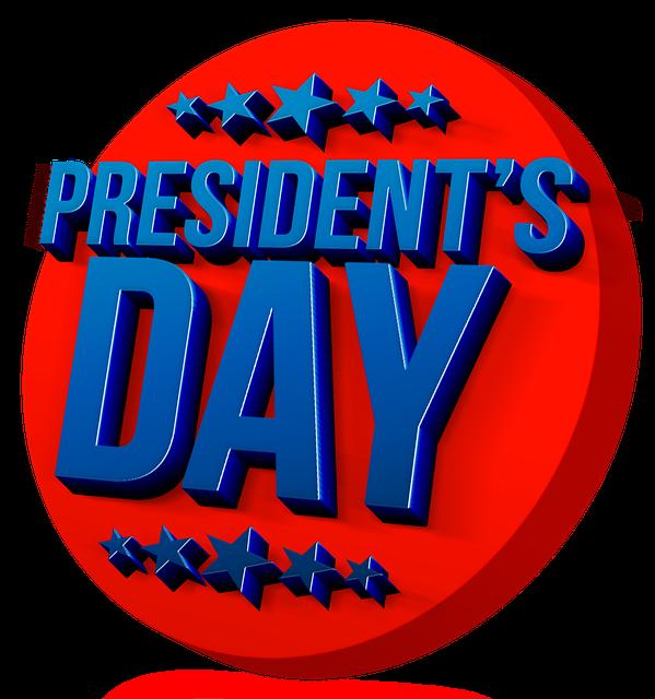 February clipart presidents day. Or washington s birthday