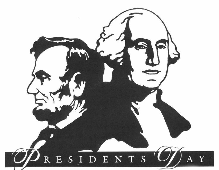 Free holiday cliparts download. February clipart presidents day