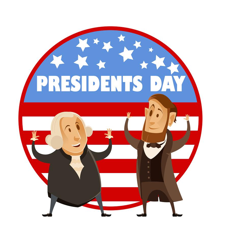Banner ingenium . February clipart presidents day