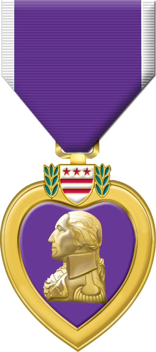 File purple heart medal. Future clipart award