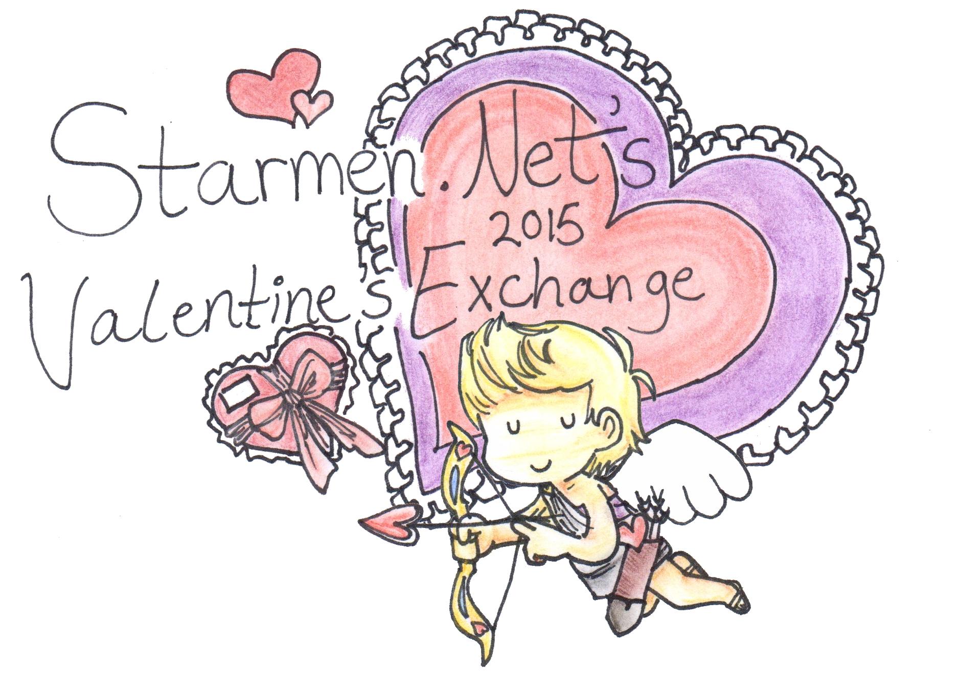 February clipart secret valentine.  annual exchange thread
