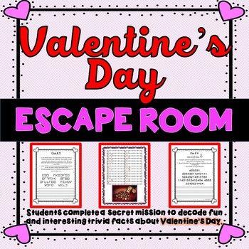 S day escape room. February clipart secret valentine