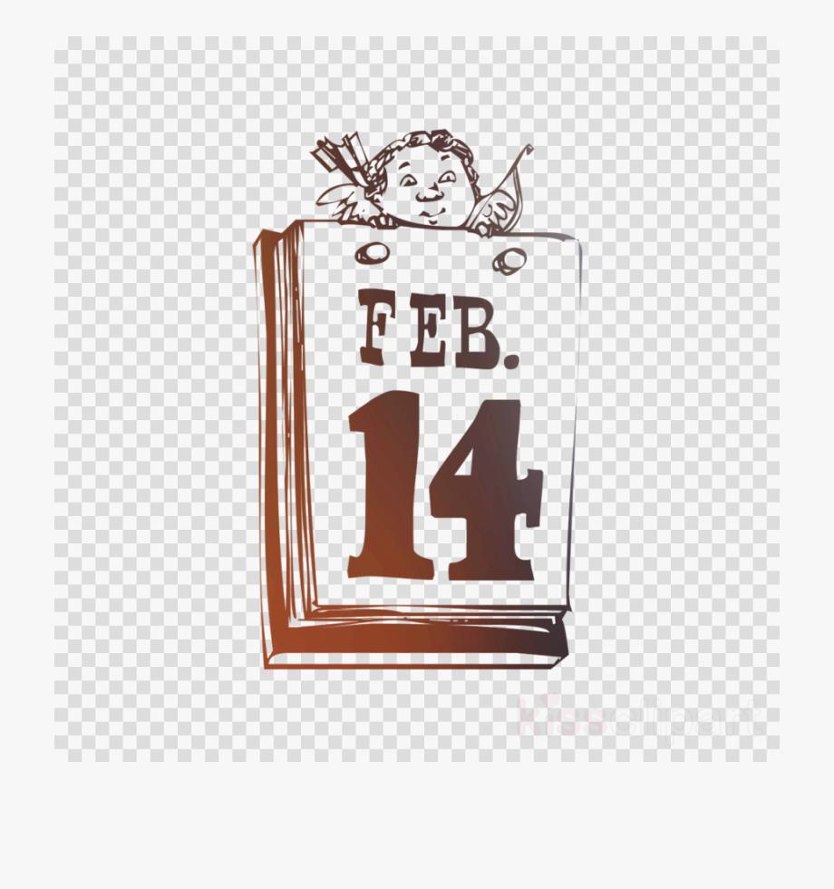 Calendar illustration transparent png. February clipart sign