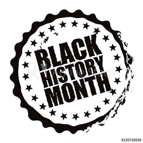 February clipart similar. Black history month stamp