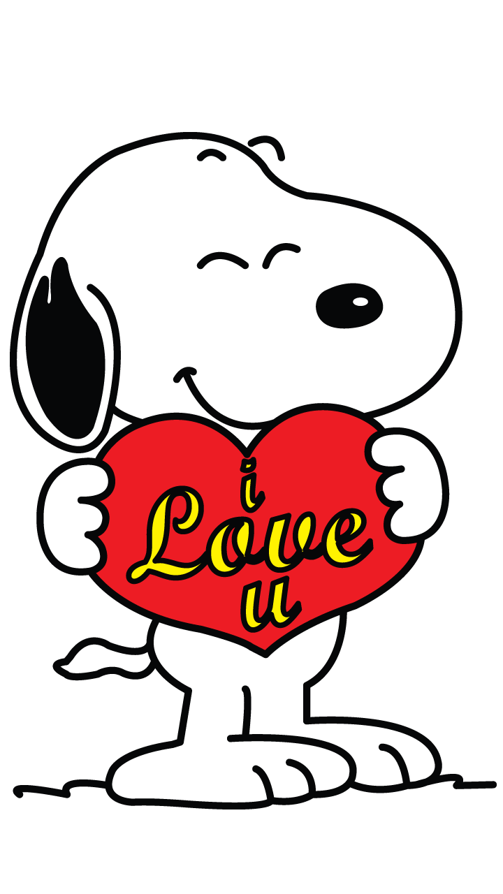 February clipart snoopy. Heart step png holidays