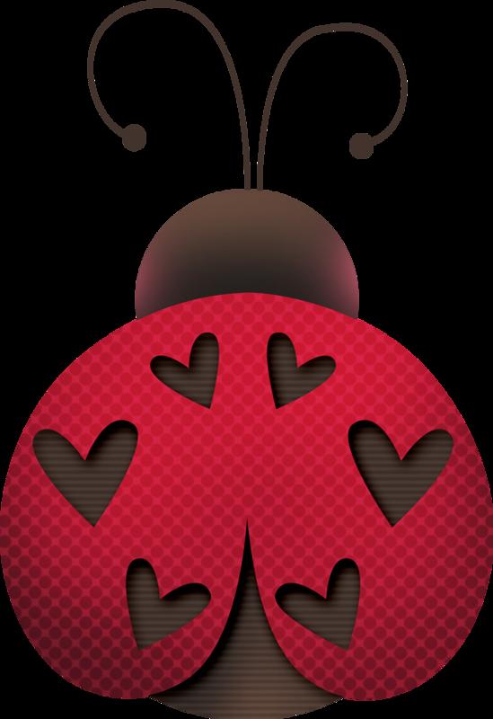 February clipart theme.  ladybug painting pinterest