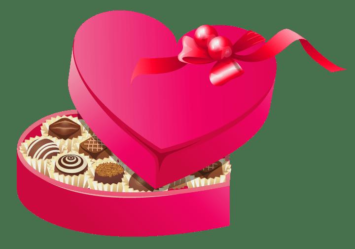 February clipart valentine's day chocolate. Valentine s info