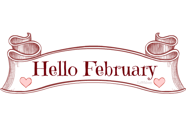 Download desktop hello free. February clipart wallpaper