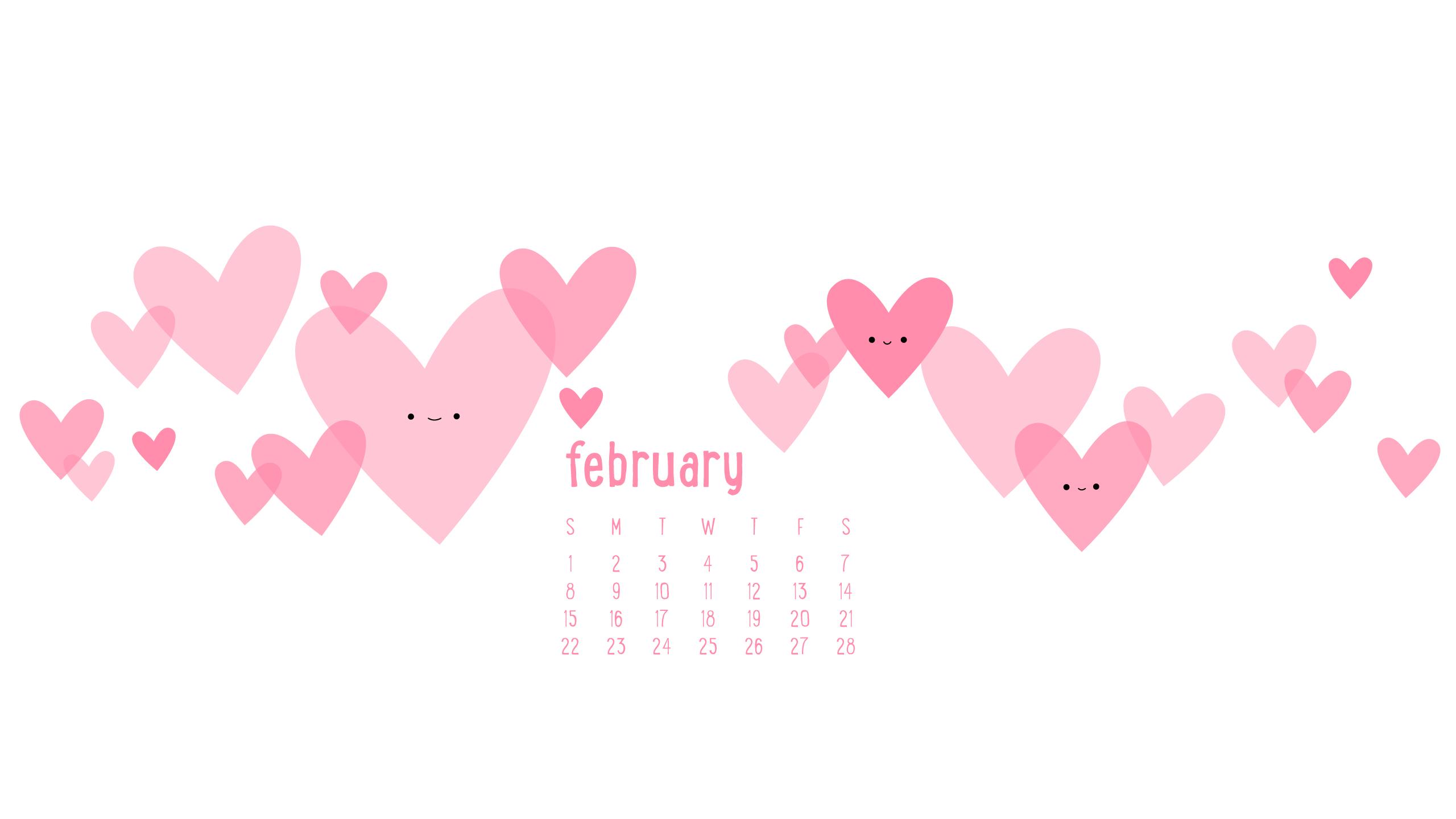 February clipart wallpaper. Wallpapers calendar cave