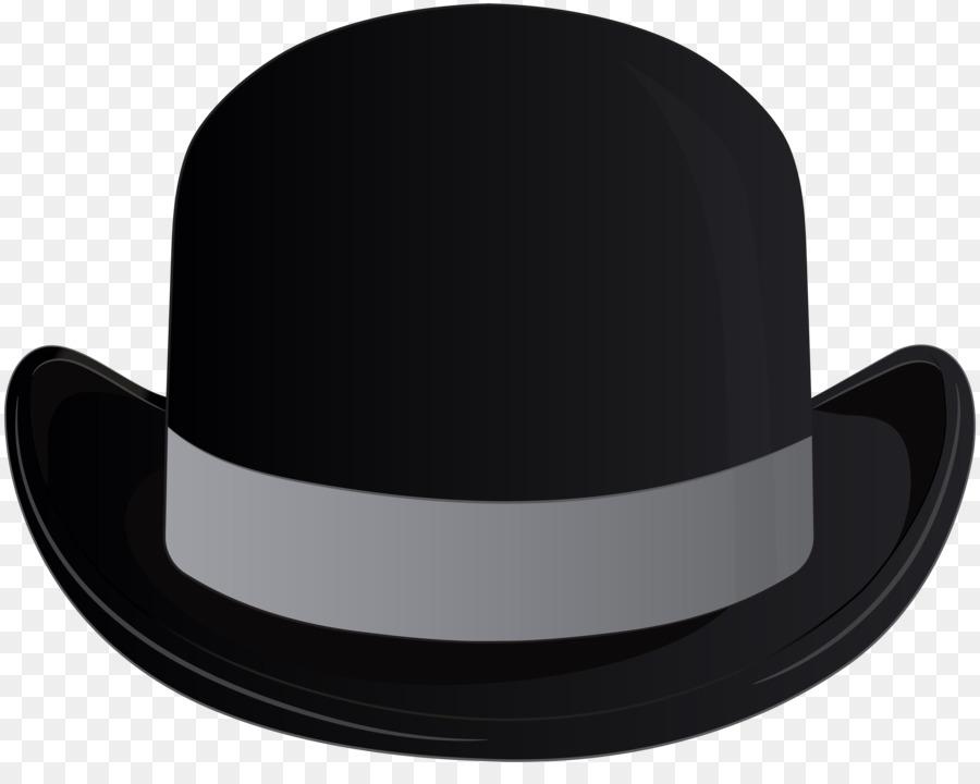Fedora clipart. Bowler hat headgear clip