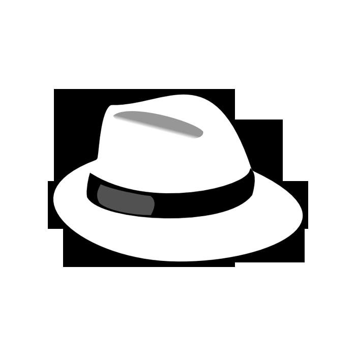 Fedora clipart alpine hat. Team whitehat defenses ms