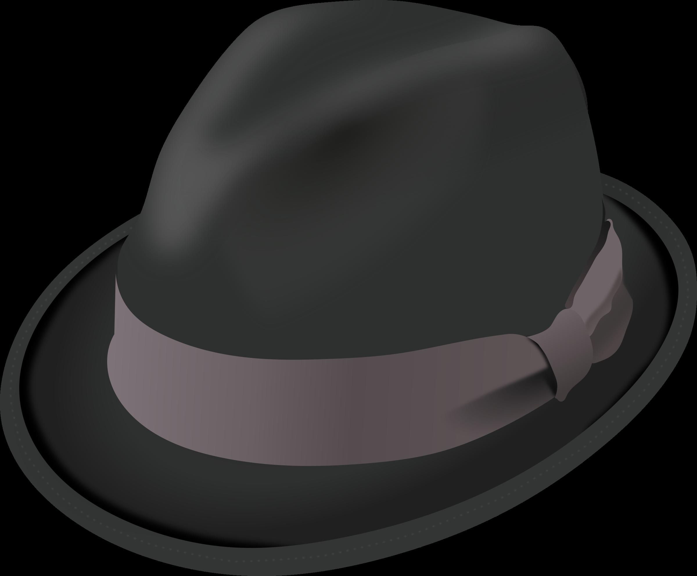 Trilby big image png. Fedora clipart alpine hat