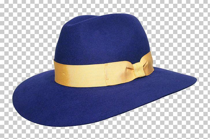 Png cap cobalt electric. Fedora clipart blue