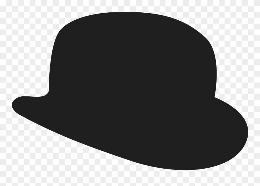 Fedora clipart bowler hat. Clip art png download