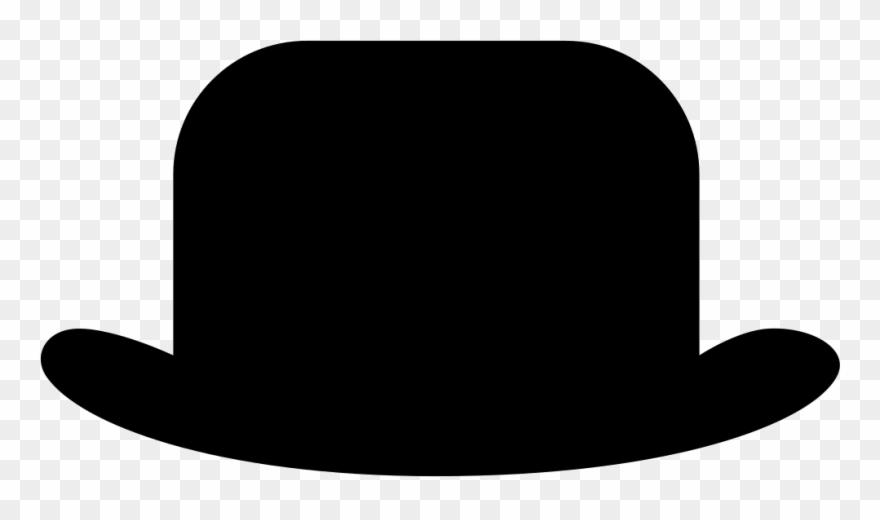 Tall plantillas de sombrero. Fedora clipart bowler hat