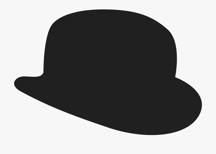 Fedora clipart bowler hat. Top transparent background