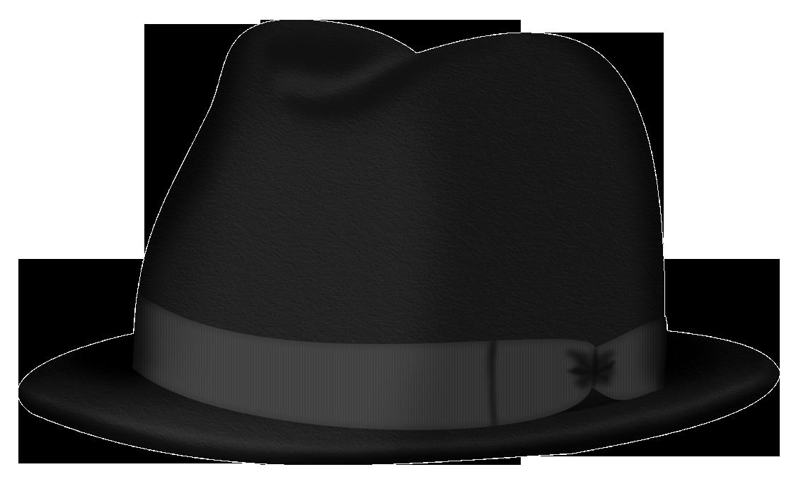 Product design black hat. Fedora clipart clip art