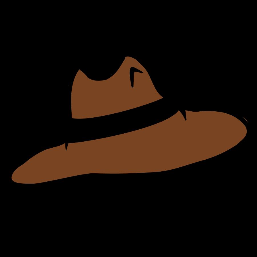 Fedora clipart clip art. Cowboy hat beanie top
