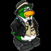 Icy jax e p. Fedora clipart club penguin