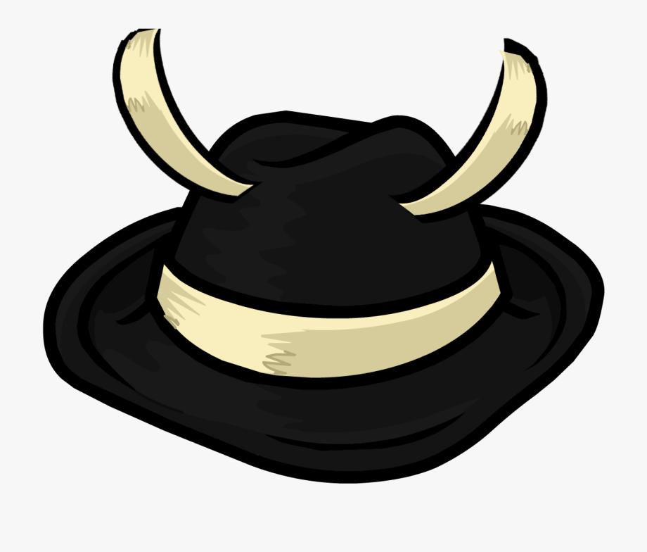 Fedora clipart club penguin. Cowboy hat free cliparts