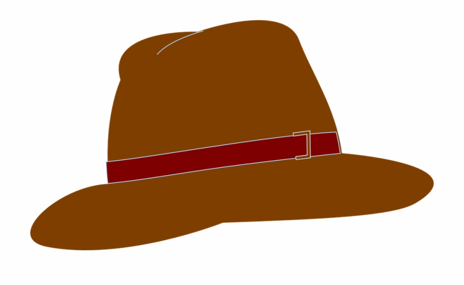 Images brown png free. Fedora clipart detective hat