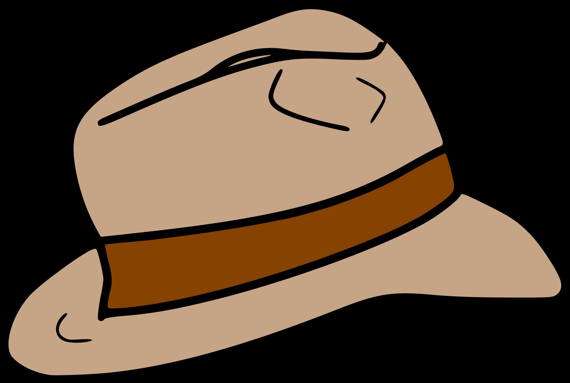 File hat svg wikimedia. Fedora clipart fadora