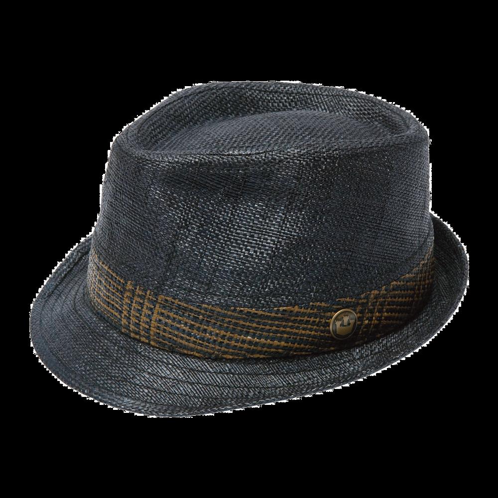 Fedora clipart grey hat. Goorin bros straw on