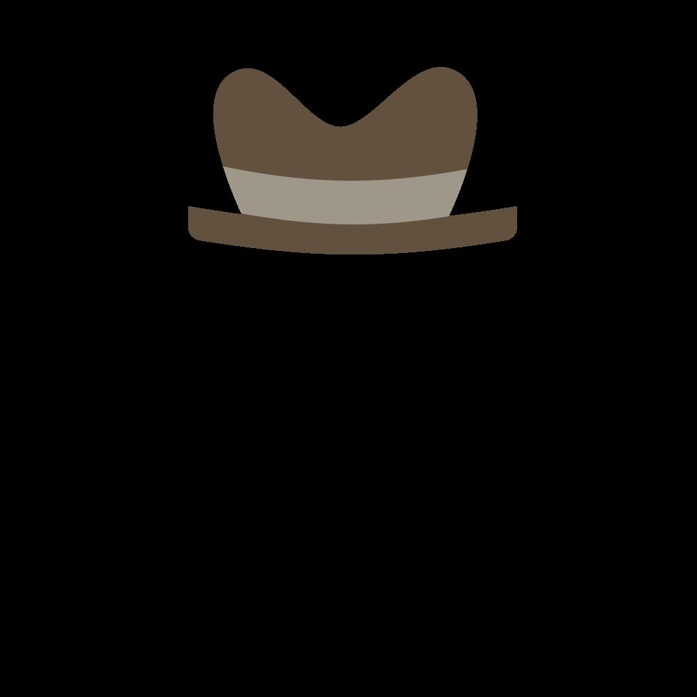 Fedora clipart hat aussie. Ethmoji opensea