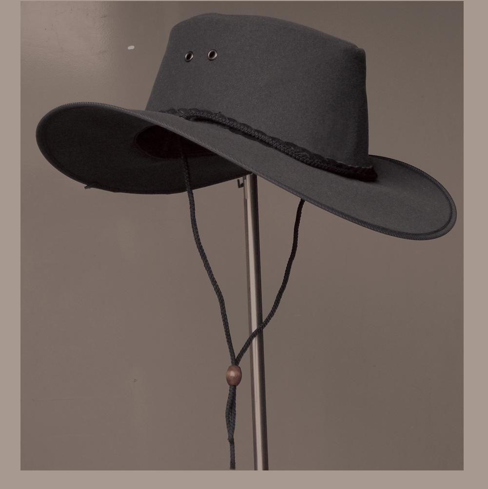 Fedora clipart hat aussie. Cape york canvas kakadu