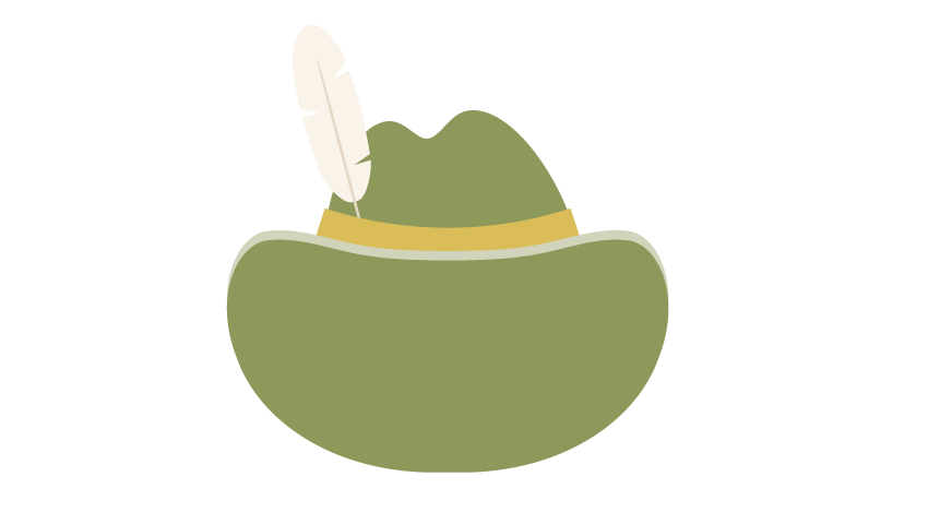 Fedora clipart hat bavarian. How to create an