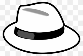 Fedora clipart headwear. Pulling a rabbit out