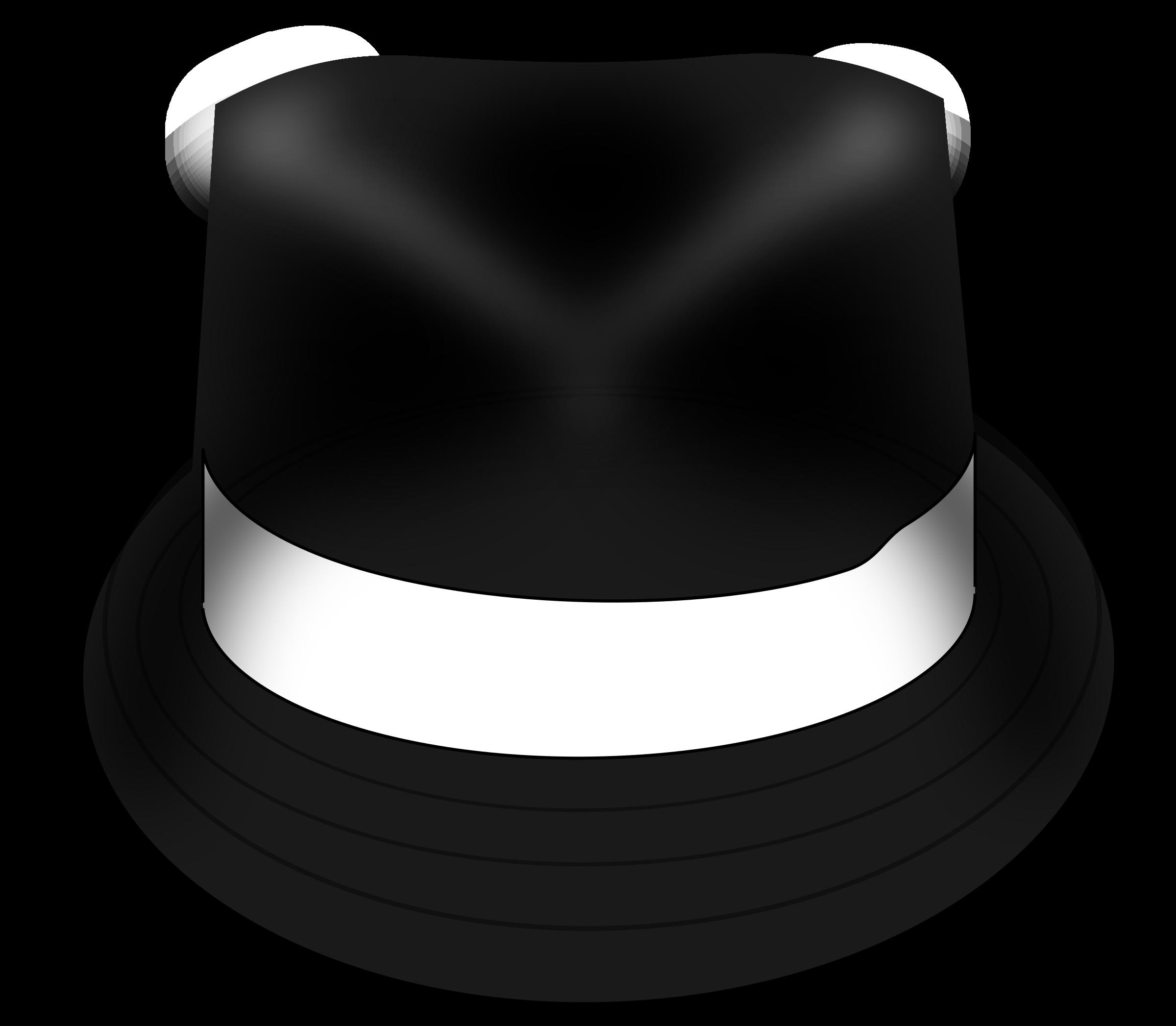 Hat trilby big image. Fedora clipart headwear