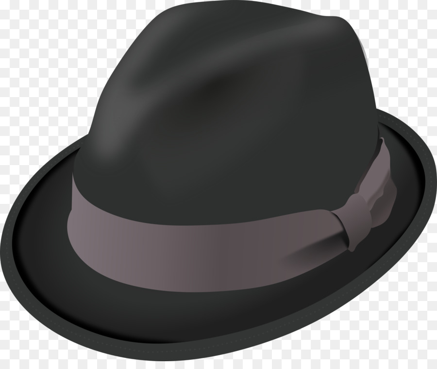 Fedora clipart headwear. Top hat cartoon cap