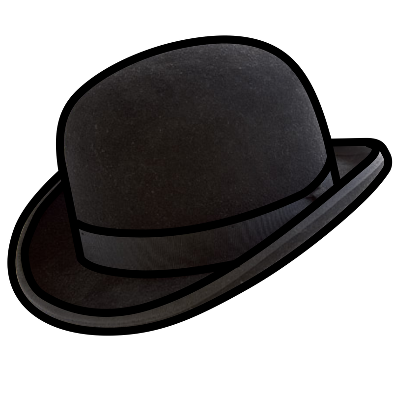 Fedora clipart hipster hat. Symbol clothing talksense bowler
